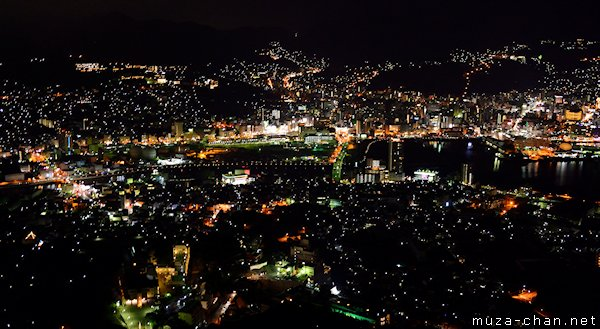 Nagasaki, View from Mount Inasa Observatory