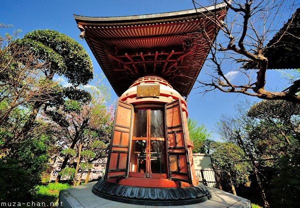 Pagoda, Jourenji Temple, Itabashi, Tokyo