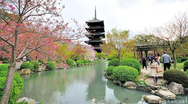 Pagoda, To-ji Temple, Kyoto
