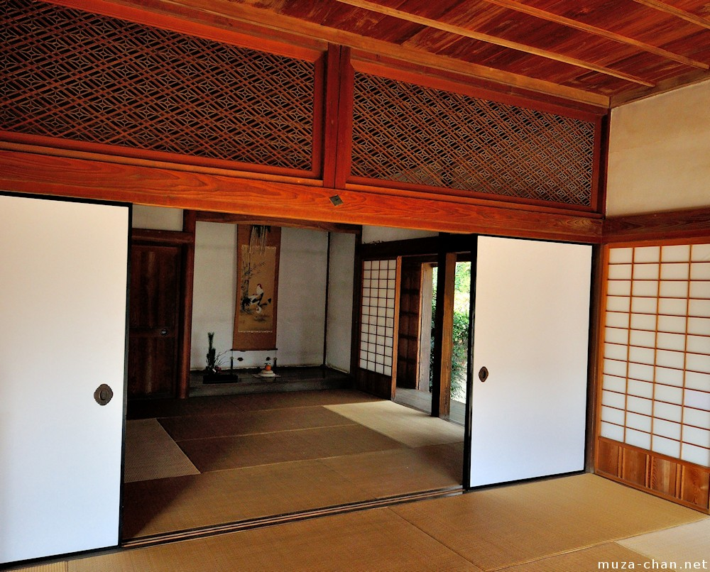 Inside the traditional japanese house ranma - Inside house ...