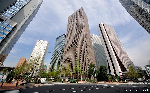 Shinjuku Skyscrapers, Nishi-Shinjuku, Tokyo