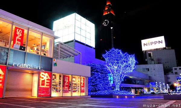Shinjuku Southern Terrace Winter Illumination, Tokyo