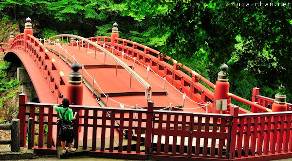 Shinkyo, The Sacred Bridge, Futarasan Shrine, Nikko