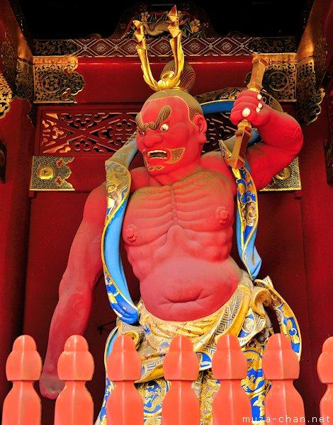 Nio Statue, Niomon Gate, Taiyuin Mausoleum, Nikko
