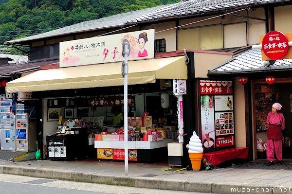 Yatsuhashi shop, Arashiyama, Kyoto