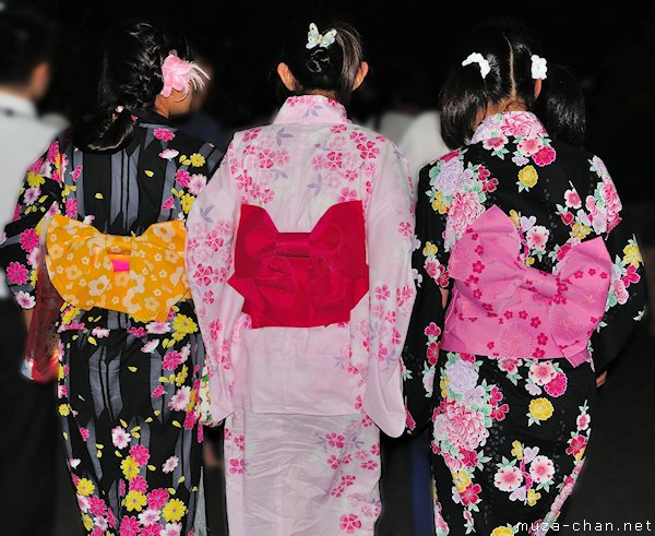 Traditional Japanese clothing,  Chocho-musubi knots