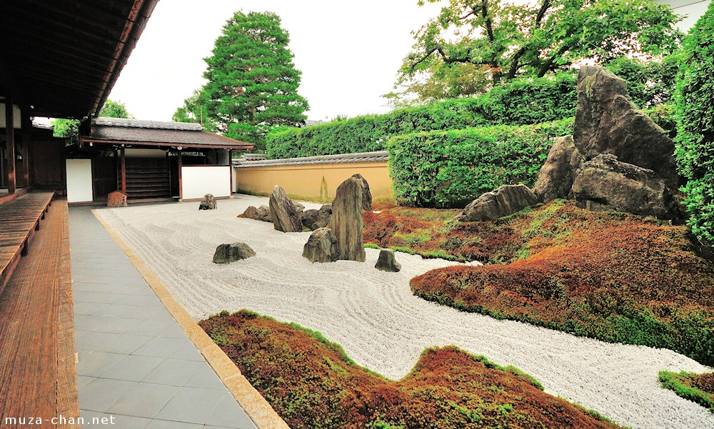 Japanese rock garden a bit of history for Japanese meditation garden