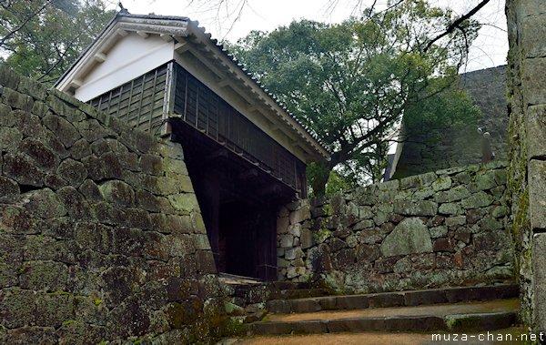 Akazuno Gate, Kumamoto Castle, Kumamoto