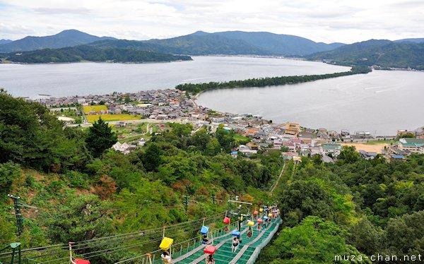 Amanohashidate, View from Kasamatsu Park