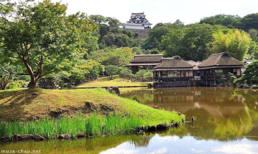 Simply Beautiful Japanese Scenes Hikone Castle Viewed