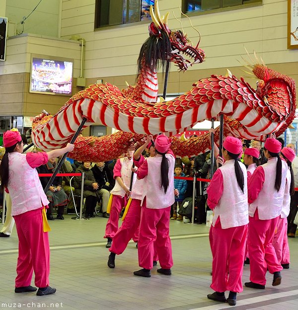 Dragon dance, Nagasaki
