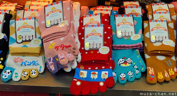 Five-toe socks