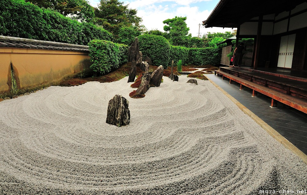 Defining images of Japan Zen garden
