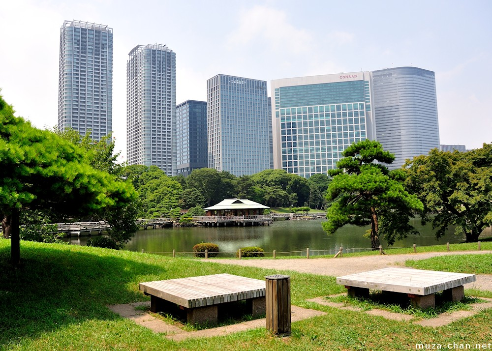 Special Places of Scenic Beauty, Hama-rikyu Gardens