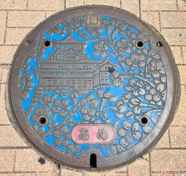 Inuyama Castle Manhole Cover, Inuyama