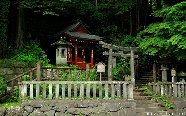 Shinto Shrine, Kanmangafuchi Abyss, Nikko