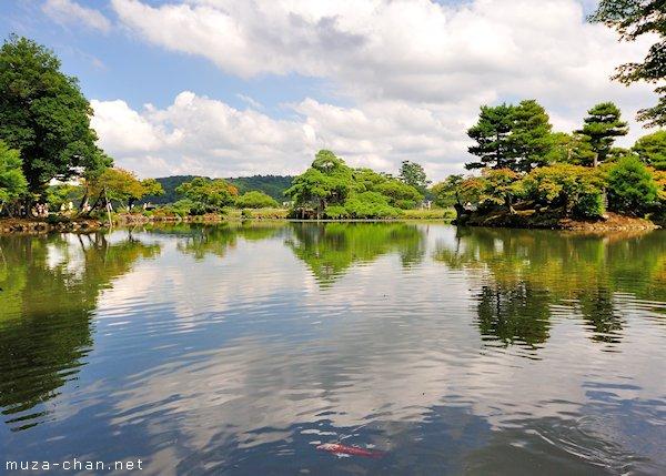 Kasumiga-ike pond, Kenroku-en Garden, Kanazawa