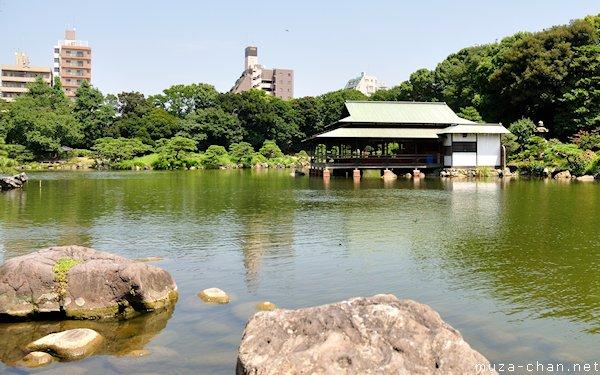 Kiyosumi Teien Garden, Fukagawa, Tokyo