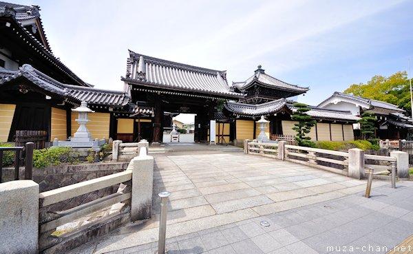 Main Gate, Nishi Hongan-ji, Kyoto