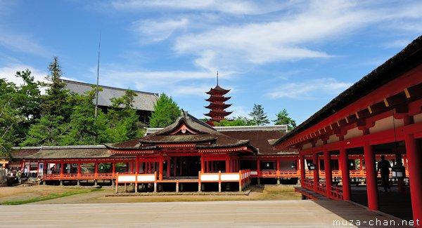 Marodo Shrine, Itsukushima Shrine, Miyajima