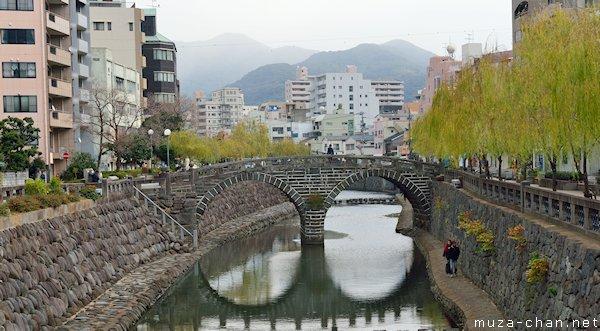 Meganebashi, Nakashima River, Nagasaki