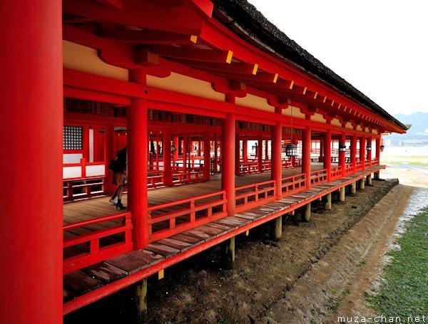 Corridor, Itsukushima Shrine, Miyajima
