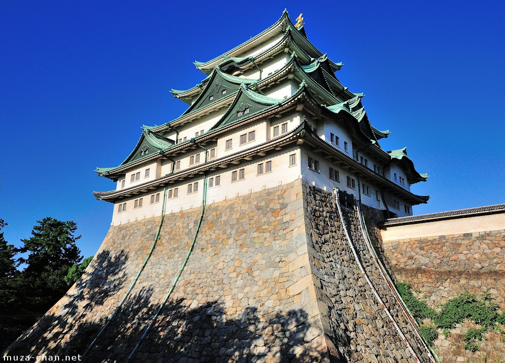 A bit of history, a Japanese castle saved by a German
