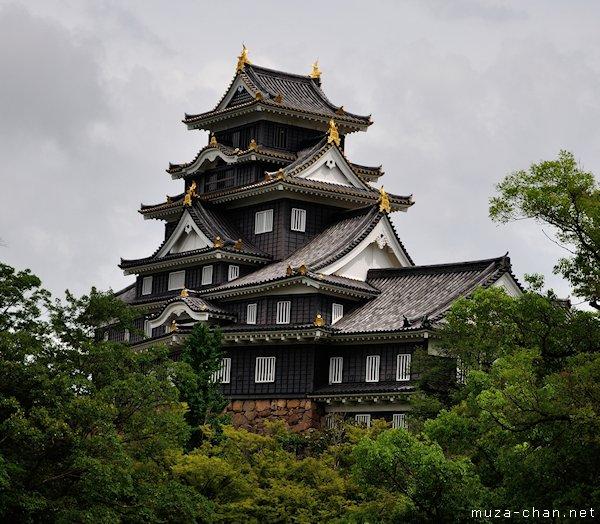 Okayama Castle, Main Tower, Okayama