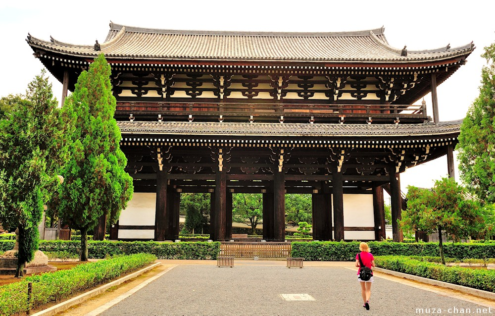 Architectural treasures of Japan, Kyoto Tofuku-ji Sannon