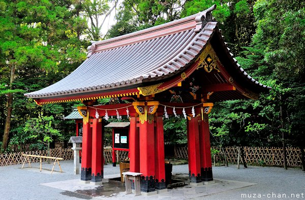 Temizuya, Tsurugaoka Hachimangu Shrine, Kamakura