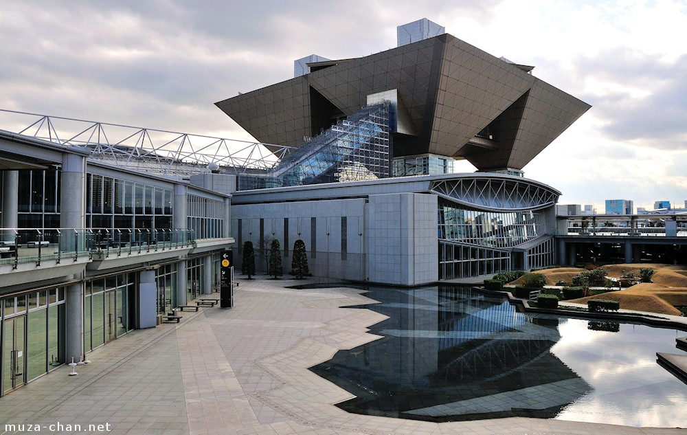 Japanese modern architecture tokyo big sight for Contemporary architecture