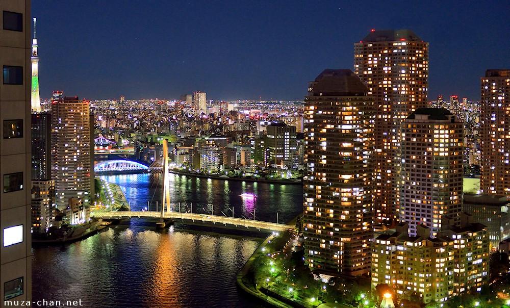 simply beautiful japanese scenes  night
