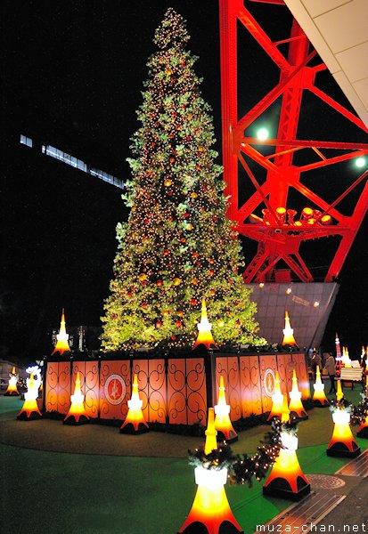 Tokyo Tower Christmas Tree, Minato, Tokyo