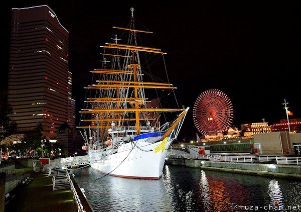 Nippon Maru, Minato Mirai 21, Yokohama