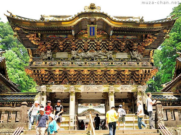 Yomeimon Gate, Toshogu Shrine, Nikko