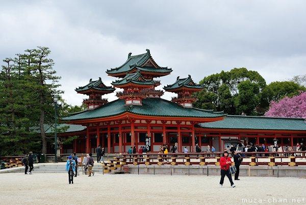 Byakko-ro (White Tiger Tower), Heian Shrine, Kyoto