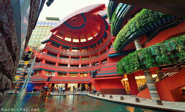 Japanese Modern Architecture Canal City Hakata Sun Plaza