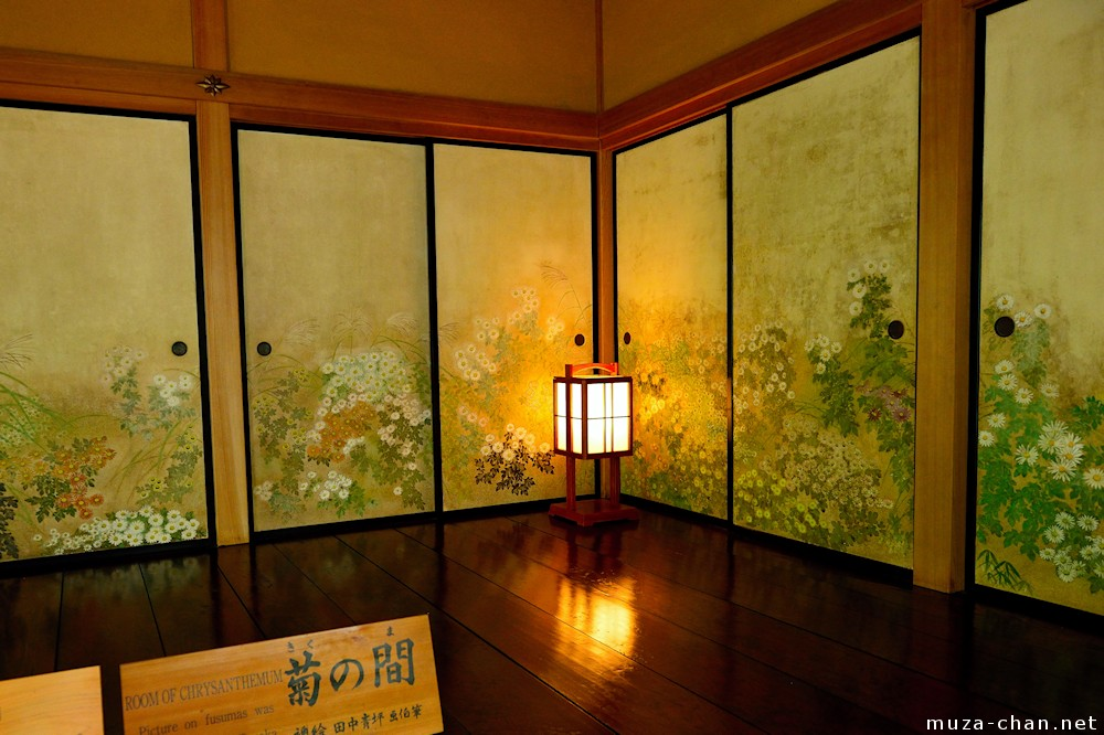 Japanese Traditional House Kobuntei Chrysanthemums Room