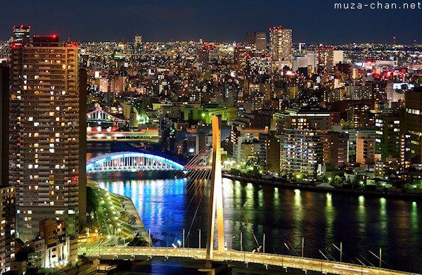 Eitai bridge, Tokyo
