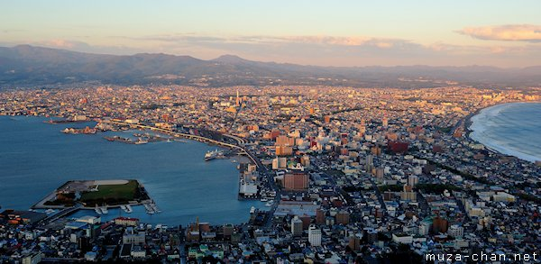 Hakodate, View from Mount Hakodate Observatory