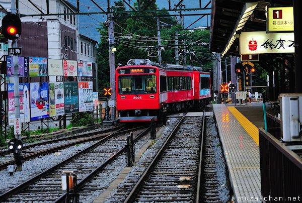 Hakone Tozan Line, Hakone