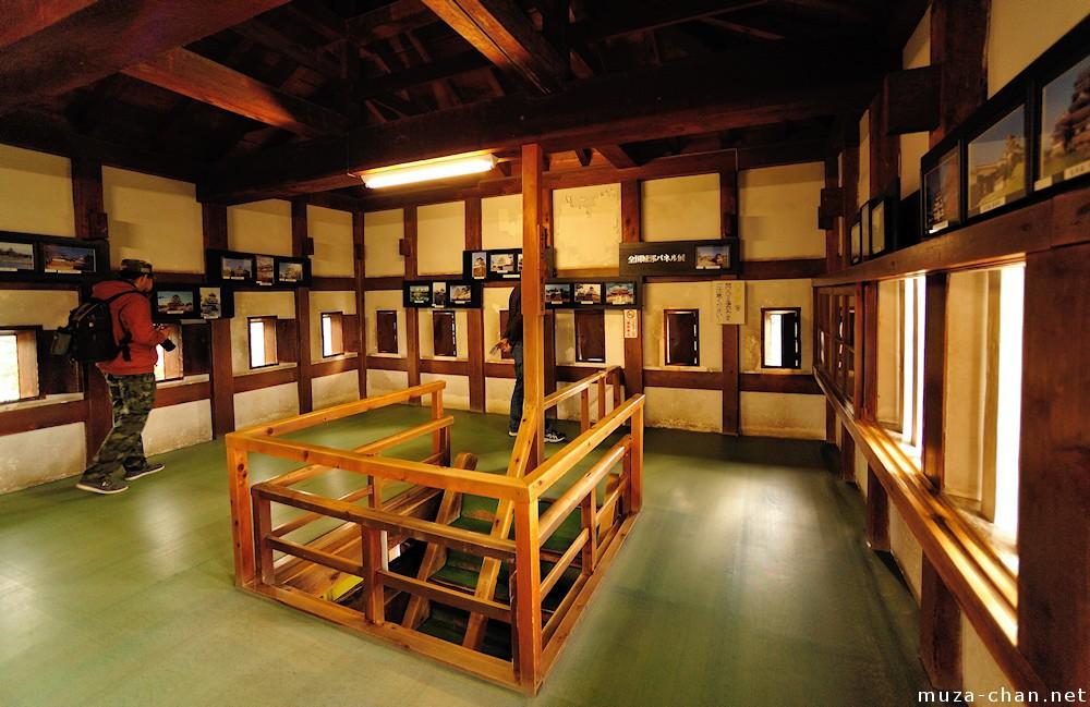 Hirosaki Castle Interior