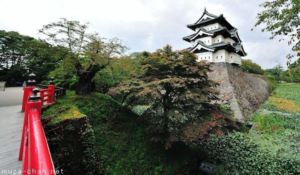 Hirosaki castle, Hirosaki, Aomori
