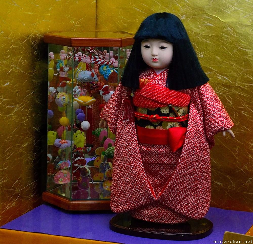 Traditional Japanese Doll Ichimatsu Ningyo