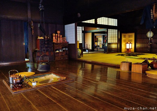 Old traditional japanese merchant house for Asian houses photos