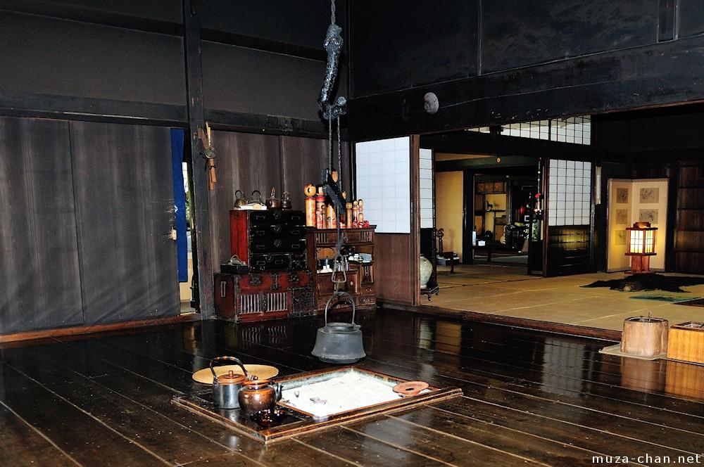 Inside the traditional Japanese house Irori