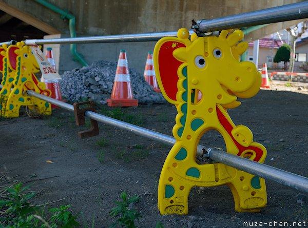 Japanese roadside barriers, Hakodate