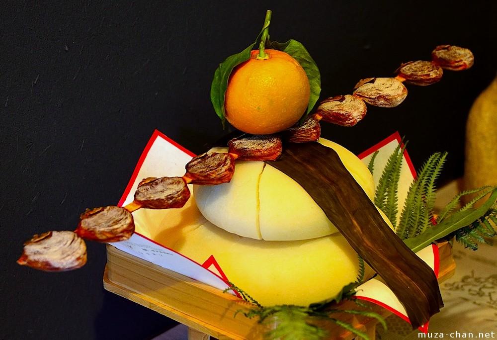 Japanese New Year Decoration Kagami Mochi