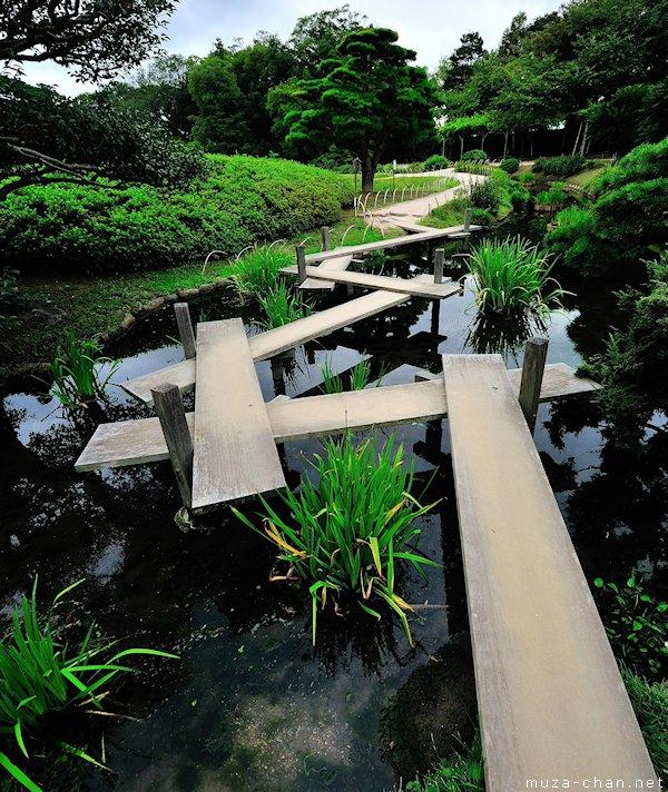 Korakuen Garden, Yatsuhashi Bridge, Okayama