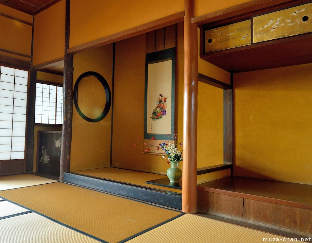 japanese traditional house tokonoma alcove. Black Bedroom Furniture Sets. Home Design Ideas